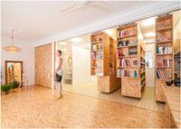 Мультифункциональное пространство для квартиры-студии