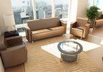 Офисное удобство: выбираем диван на работу