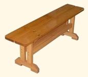 Скамейка деревянная Завалинка