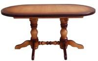 Стол на 2 точеных ногах (150)