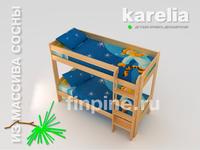 Двухъярусная кровать КАРЛСОН-800