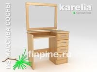 Макияжный столик KARELIA с зеркалом