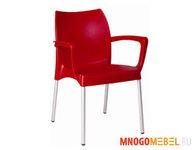 Мебель для баров и кафе: Пластиковый стул (стопируемый)