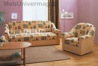 Набор «Ручеек-1» (диван 1250 мм, 2 кресла-отдыха)