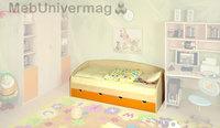 Кровать односпальная Антошка б/м (Модуль 2)